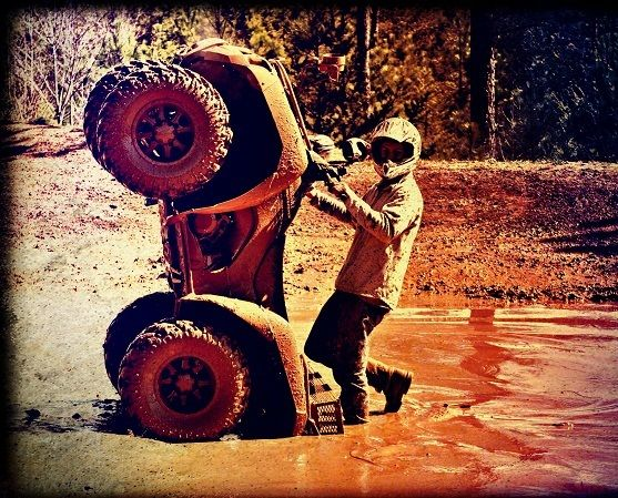Guy in Mud Bog